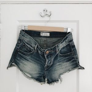 Free People Cut off Booty Shorts